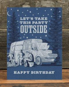 Birthday card by Waterknot