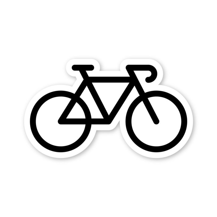 Fell Bike Sticker