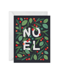 Paper Raven Cards Noel greeting card