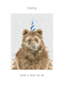 Bear Card from Wrendale