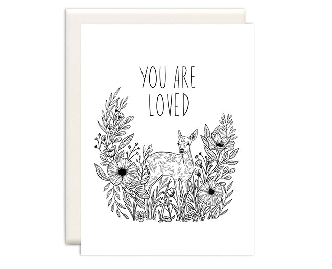 Wild Rose Lane Card by Inkwell Cards
