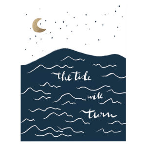 Tide Will Turn Print from Lake Erie Design Co.