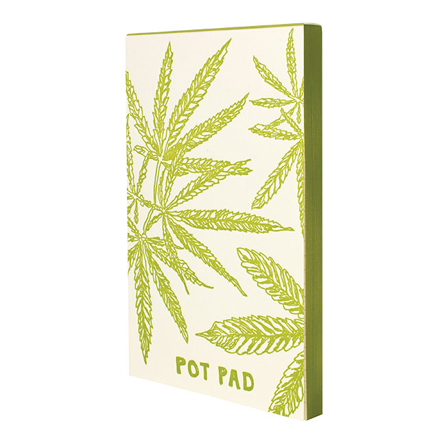 Edge-painted Pot Pad by Oblation Papers & Press