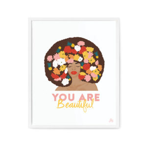 You Are Beautiful from Pineapple Sunday Design Studio was a surprise hit